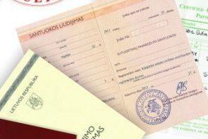 Atsisakoma popierinių dokumentų