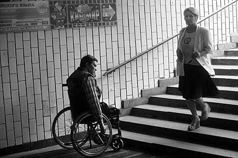 Aplinkos pritaikymas neįgaliesiems turi būti aktualus visai visuomenei