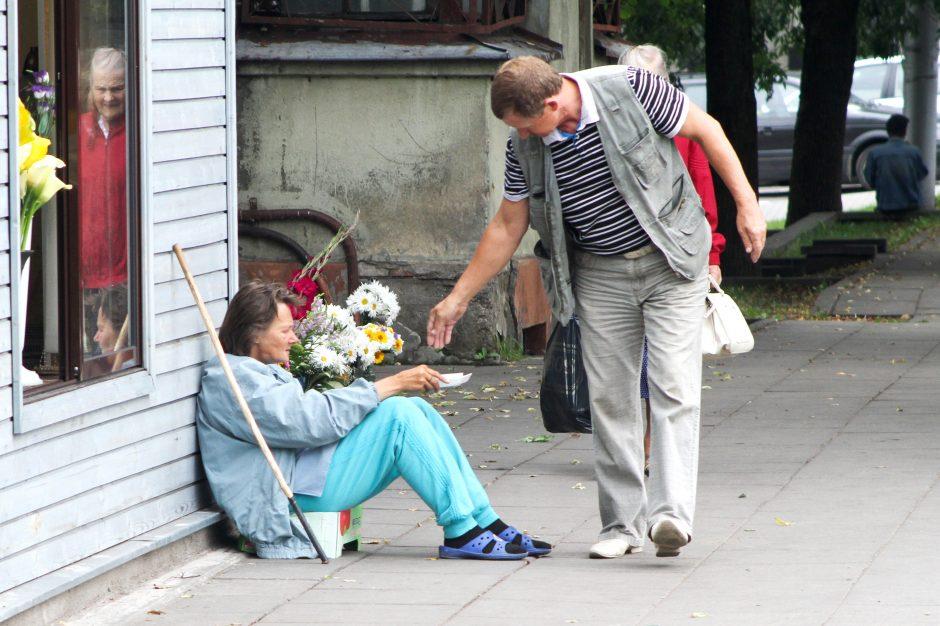 Liūdna statistika: žemiau skurdo ribos – penktadalis Lietuvos