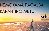NEMOKAMA PAGALBA KARANTINO METU!